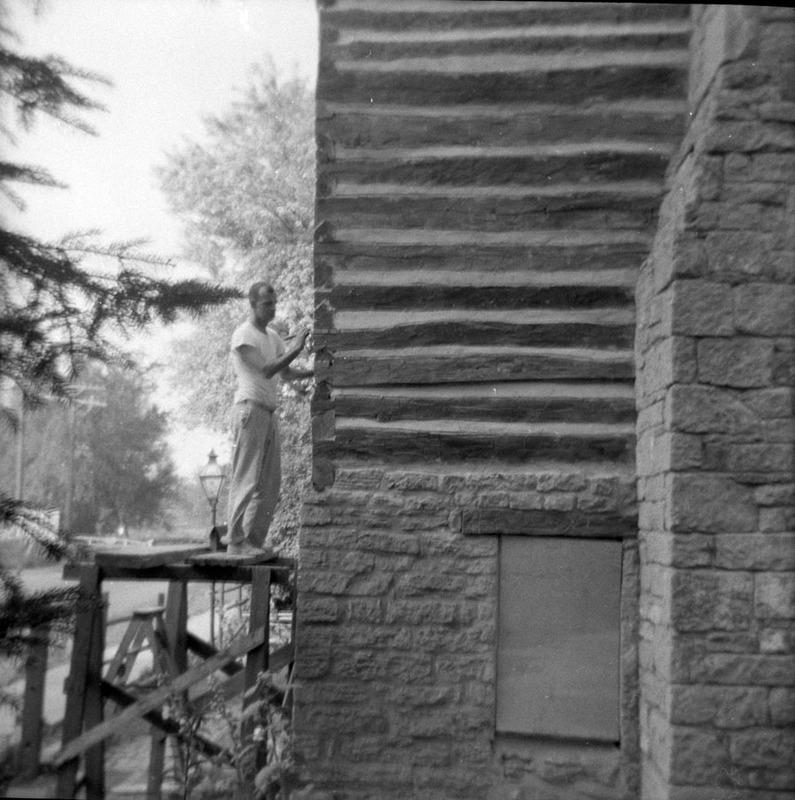Polperro - during restoration