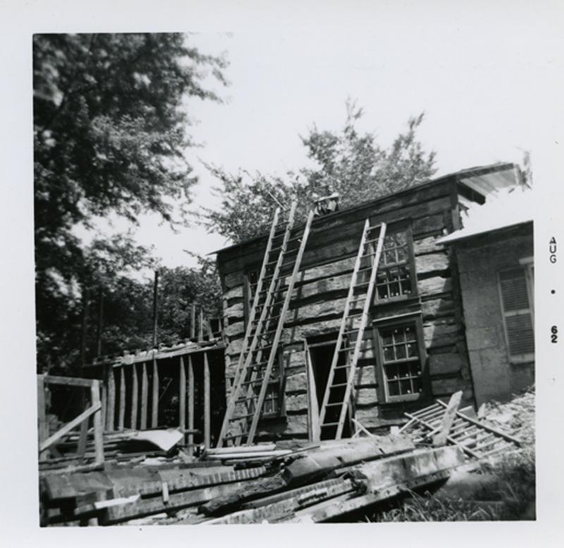 Tamblyn's Row - during restoration