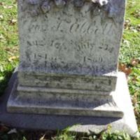 Abbot, Charles F  (1843-1869) Gravesite of